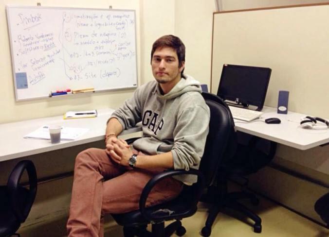 O estudante de Engenharia Mecânica Bruno Kulchetscki